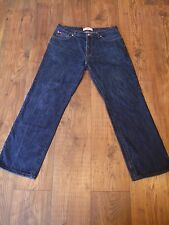 lee cooper length 34 blue mens jeans zip up Summer Winter 34 Inch Waist Used