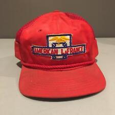 Vintage AMERICAN LaFRANCE Mesh Truck Cap Hat RED Fire Truck Fireman Firetruck