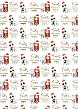 Personalised Christmas Nightmare before Christmas Wrapping Paper & 2 tags.