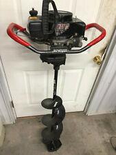 StrikeMaster Laser Xl-3000 Ice Fishing Auger Tecumseh 3Hp 10 in gas power Nice