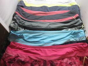 Nwt Women/'s Tangerine Shorts Dark Gray Size 2XL XXL Layered Running Active