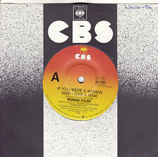 BONNIE TYLER If You Were A Woman (And I Was A Man) / Under Suspicion 45