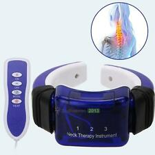 Electric Neck Meridian Therapy Massager Far Infrared Heating Pain Relief Tool