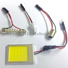 2x 24 LED SMD COB Panel Car Interior Light Bulb T10 Festoon Dome BA9S 12V - 24V