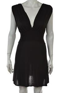 Rebecca Beeson Womens Dress Size 3 Dark Green Sleeveless Mini Short Casual