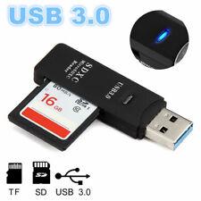 USB 3.0 Card Reader Stick Kartenleser Micro SD/SDXC TF 2in1 Memory Kartenadapter