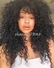 Long Curly Wigs For Fashion Women Natural Hair Synthetic Afro Kinky Curly Wig