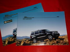 JEEP Cherokee 2.8 CRD Sport Limited Limited Exclusive Prospekt + Preisliste 2007