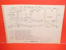 1955 MERCURY MONTCLAIR MONTEREY CUSTOM SUN VALLEY COUPE FRAME DIMENSION CHART