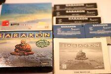 RARE IBM PC 5.25 3.5 DISC'S SARAKON - BY VIRGIN GAMES 1991