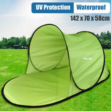 Poldable Pop Up Beach Shelter Camping Sun Shade Tent Canopy Hiking Fishing Green