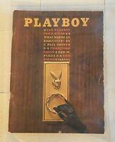 Playboy Magazine - May 1962 - Cynthia Maddox Marya Carter - With Centerfold