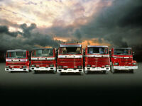 A3 Scania 3 Series Vintage V8 Lorry Poster Picture Art Print