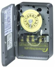 Intermatic WH40 Electric Water Heater Timer Gray Intermatic Volt 240 Electronic