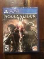 Soul Calibur VI (Sony PlayStation 4, 2018) Brand New! Sealed