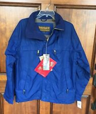 NWT Timberland Weatherproof Waterproof Entrant G11 Blue Hooded Jacket Men's Sz S