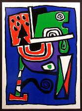 "Jacques Soisson ""L'Homme du Nord"" Signed Numbered Fine Art Print 1981 Make Offer"