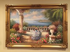 The Garden by the Sea -24x36 with frame