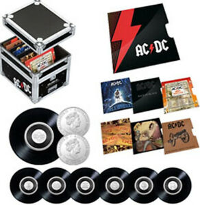 2020/2021 20c 'AC/DC' 7 Uncirculated Coin Collection in RAM Issued Box