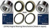 Front Wheel Hub (OEM) KOYO Bearing & Seals FOR 1996-2002 Toyota 4Runner 4WD PAIR