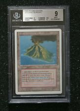 MTG volcanic island PSA BGS 9 MINT Revised Edition NEW REDUCED PRICE!