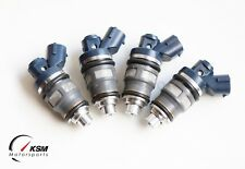 4 DENSO 800cc FUEL INJECTORS TOYOTA SW20 3S-GTE EJ20 BG5 BD5 SIDE FEED low imp