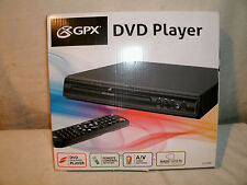 GPX D1816BL DVD Deck with Remote Control, Black New-in-Box NR!!