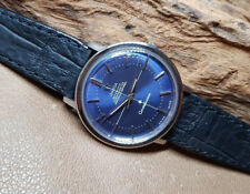RARE 1965 OMEGA CONSTELLATION BLUE DIAL AUTOMATIC CAL:551 MAN'S WATCH