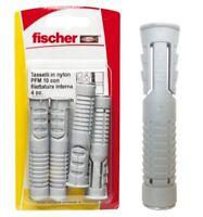 Fischer tasselli in nylon PFM 10 con filettatura interna 4PZ x muratura 504549