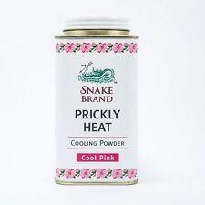 Prickly Heat Powder Snake Brand Cooling Pink 300 g.