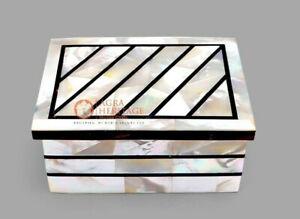 Random Art Jewelry Personalize Box Mop Inlaid Mosaic Design Housewarming Gifts