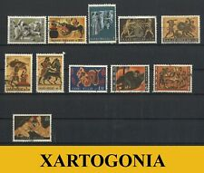 GREECE 1970, THE LABORS OF HERCULES, USED,VF