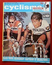 1970 l'équipe cyclisme n°28 PARIS TOURS JANSSEN TSCHAN CYCLISME DANOIS LE DERBY