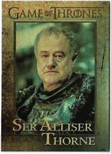 2017 Game Of Thrones Season 6 FOIL Parallel Card #75 Ser Alliser Thorne