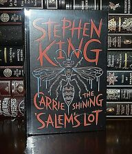 New Novels Stephen King Sealed Leather Bound Carrie Shining Salem's Lot Deluxe
