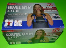 BRAND NEW GWEE GYM LITE TOTAL BODY EXERCISE KIT WORKOUT DVD HEALTHY EATING GUIDE