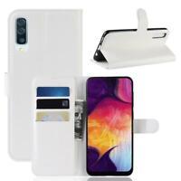 CoverKingz Samsung Galaxy A50 Hülle Flip Case Schutzhülle Cover Handyhülle Weiß