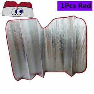Car Red Big Eye Windshield Sun Shade Front Visor Window Block High Temperatures