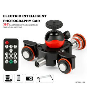 L8X Camera Video Track Dolly Motorized Slider Motor for Nikon Canon DSLR Vlog