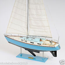 """45.8"""" High Bristol Classic Collectible Boat Yacht Wooden Sail Ship Model"""