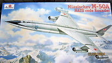 """Myasishchev M-50A  NATO code """"Bounder""""   1/72  Amodel  # 72016"""