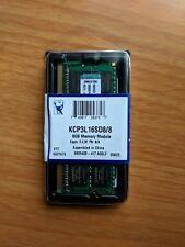 Kingston 8GB (1 x 8GB) PC3-12800 (DDR3-1600) Memory (KCP3L16SD88)