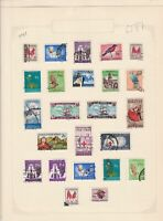 south african 1961/62 stamps page ref 17923
