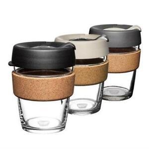 KeepCup Brew Glass Coffee Cup w/ Cork (340ml)