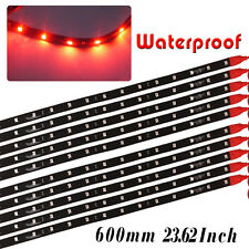 60CM/2Ft Flexible Car Motor Truck LED Strip Light Bar High Power Waterproof 12V