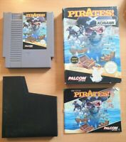 Pirates! for Nintendo NES Rare Complete UK Boxed + Manual - Great Condition