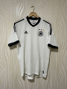 GERMANY 2002 2004 HOME FOOTBALL SHIRT SOCCER JERSEY ADIDAS sz M