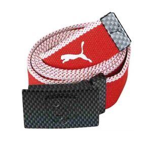 Puma Unisex Adults Ferrari Woven Belt (458)