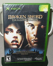 BROKEN SWORD The Sleeping Dragon SEALED NEW XBOX Action Adventure Classic Game