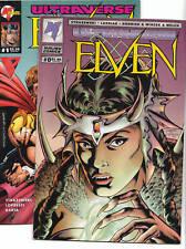 MALIBU Comics. Lot des n°0 et 1 de ELVEN. 1994 - Neuf
